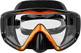 Adventure At Nature Scuba Diving Face Mask (Wide) Premium Silicone Dive Gear for Adults|Professional Spearfishing, Free Diving, Snorkelling Equipment for Enhanced Underwater Visibility
