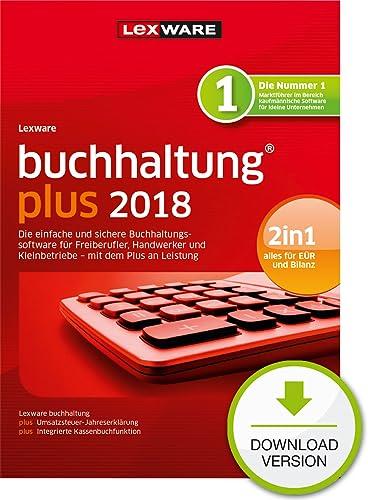 Lexware buchhaltung plus 2018 Download Jahresversion (365-Tage) [Online Code]
