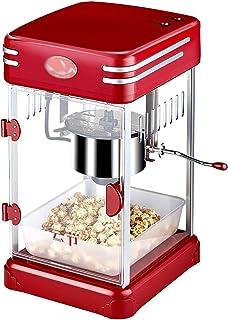 YDXYZ Popcorn Machines, Retro Machine Look Popcorn Machine with Pot Machine Pan Stirrer And Non-Stick Coating Popcorn Devi...