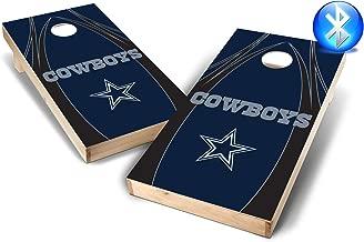 PROLINE NFL 2'x4' Dallas Cowboys Cornhole Set with Bluetooth Speakers