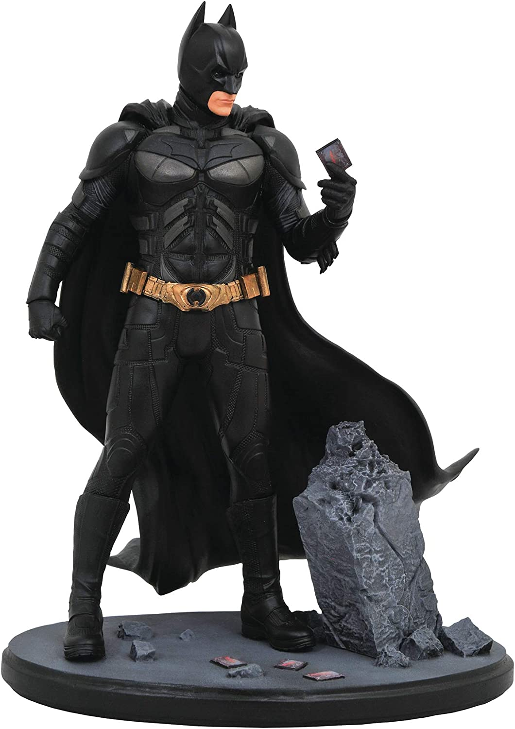 Diamond Select Toys DC Movie Classic Gallery  The Dark Knight Batman PVC Diorama Figure