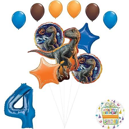 12 Pack Dino Dig Dinosaur Party 11 Jurassic World Coordinating Latex Balloons Jurassic Park Dinosaur Party Jurassic World