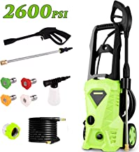 greenworks electric power washer