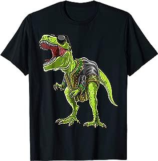 T Rex Dinosaur African Dashiki Black History Month Shirt