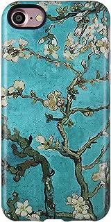 GOLINK Case for iPhone 7 Case/iPhone 8, Matte Finish Art Series Slim-Fit Anti-Scratch Shock Proof Anti-Finger Print Flexible TPU Gel Case for iPhone 7/iPhone 8- Almond Tree