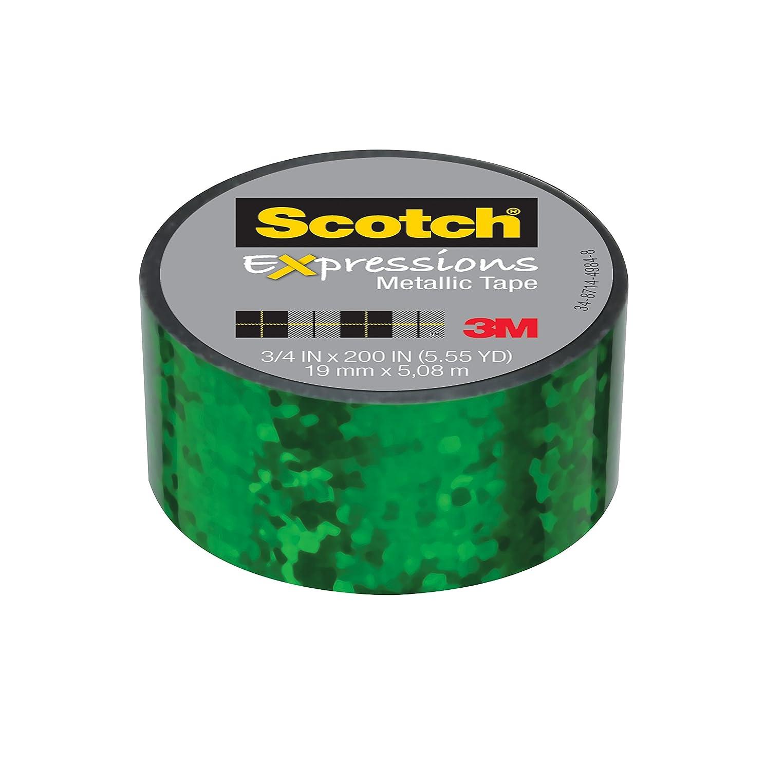 Scotch Expressions Metallic Tape, 3/4