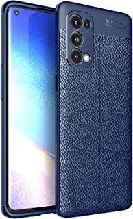 New Cell Phone Shell For OPPO Reno5 Pro 5G Litchi Texture TPU Shockproof Case Phone Cases
