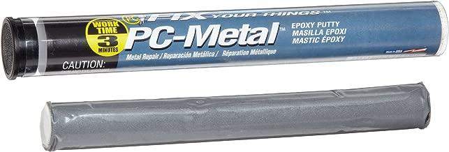 PC Products PC-Metal Epoxy Putty, 4oz Stick, Dark Gray