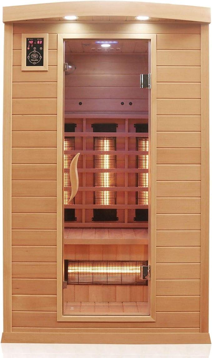 Dewello Infrarotkabine HYDER 115x105