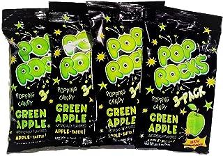 Pop Rocks Crackling Candy Green Apple-12 packets