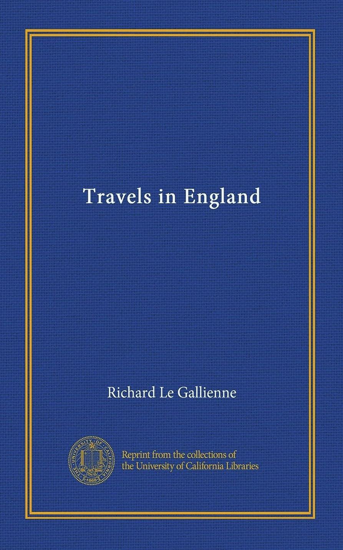 事前に疼痛同級生Travels in England