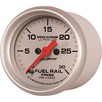 Auto Meter 5793 Phantom Fuel Rail Pressure Gauge