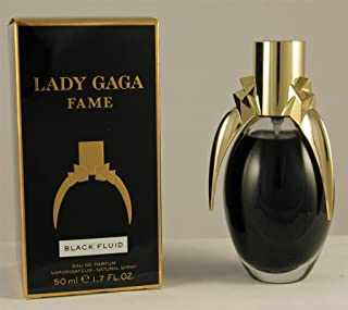 Lady GaGa Fame Black Fluid 1.7 Oz for Women Eau De Parfum