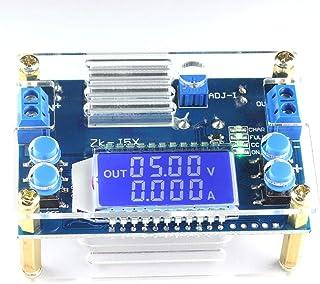 DZS Elec DC-DC Buck Converter 6.5V-36V 24V to 1.2V-32V 3.3V 5V 9V 12V Adjustable Step Down Voltage Regulator 4.5A 75W CC C...