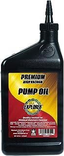 EXPLORER Premium HIGH Vacuum Pump Oil Case of 12/1 PT