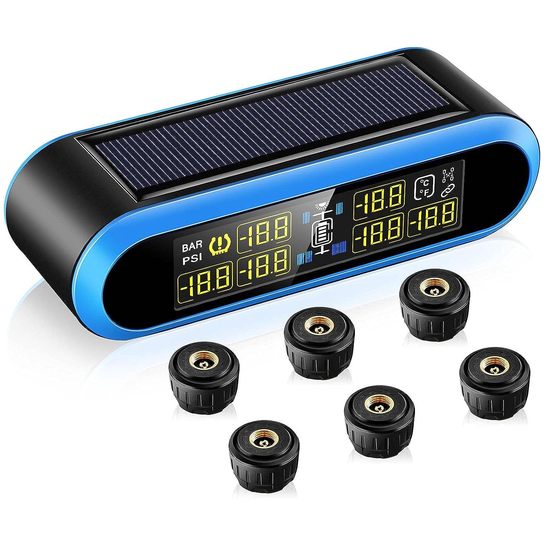 Award-winning store Tire Pressure Be super welcome Monitoring System T650 Wireless Solar Blueskysea