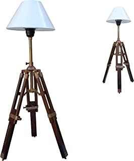Brass Nautical Desk Table Tripod Lamp Stand By Brass Nautical