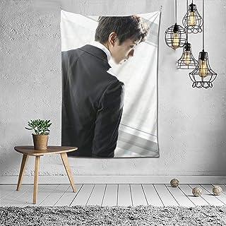 Tuxedo फैशन आंतरिक सजावट बहुक्रियाशील बेडरूम व्यक्तित्व उपहार इनडोर दीवार फांसी कक्ष पर्दा उपहार दीवार सजावट