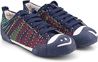 Comfort Fashion Unisex Casual Shoes/Skate Shoes/Canvas Shoes/Lace-up Shoes for Big Kids/Girls/Boys(V128)