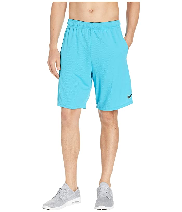 Nike Dri-FIT 9 Training Short (Light Blue Fury/Black) Men