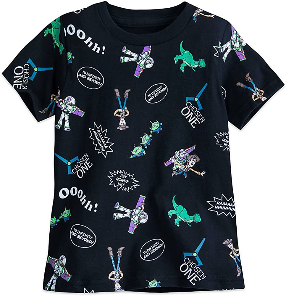 Disney Toy Story Allover Tee for Boys Gray