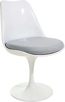 Poly and Bark Daisy Side Chair in Grey