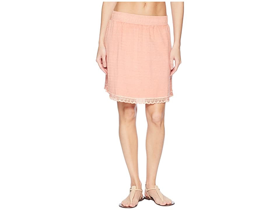 Woolrich Meadows Forks Skirt (Vibrant Peach) Women