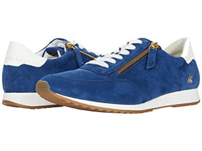 Paul Green Corinne Sneaker (Blue/Off-White Combo) Women