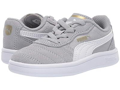 Puma Kids Astro Kick Slip-On (Toddler) (High-Rise/PUMA White/PUMA Team Gold) Kids Shoes