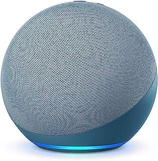 Nuevo Echo (4.ª generación)   Sonido de alta calidad, controlador de Hogar digital integrado y Alexa   Azul grisáceo