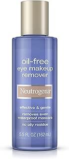 Neutrogena 露得清 无油温和眼部卸妆液,5.5液体盎司/162ml(3瓶装)