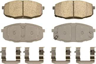 Wagner ThermoQuiet QC1397 Ceramic Disc Pad Set With Installation Hardware, Front