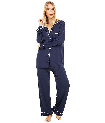 Barefoot Dreams Luxe Milk Jersey Pajama Set (Indigo) Women
