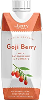 The Berry Company Goji Berry Juice Blend with Passionfruit & Ginseng, 330 ml