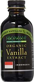 Frontier Natural Products Vanilla Extr, Og, Indonesia, 2-Ounce (Pack of 3)