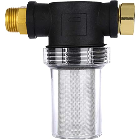 Filter for Garden Hose Pressure Washer Gardening Inlet Water 100 Meshes