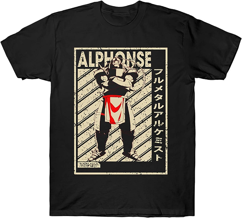 Anime Fullmetal Alchemist New product! New type Vintage Alphonse Manga Max 55% OFF Hoodie T-Shirt