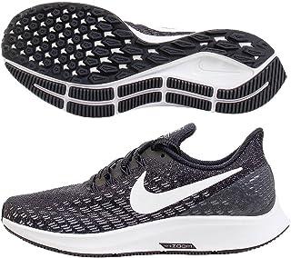 Nike Women s Air Zoom Pegasus 35 Running Shoe Wide Black White Gunsmoke Oil c9a3db3c9