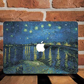 Vinyl Decal Sticker Skin for Apple MacBook Pro 13 Models A1706 A1708 A1989 2017 2018 13 Inch Laptop (Kanagawa Wave)