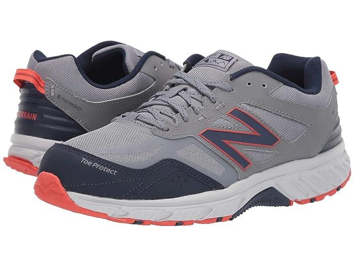 New Balance  510v4 (Gunmetal/Navy) Mens Running Shoes
