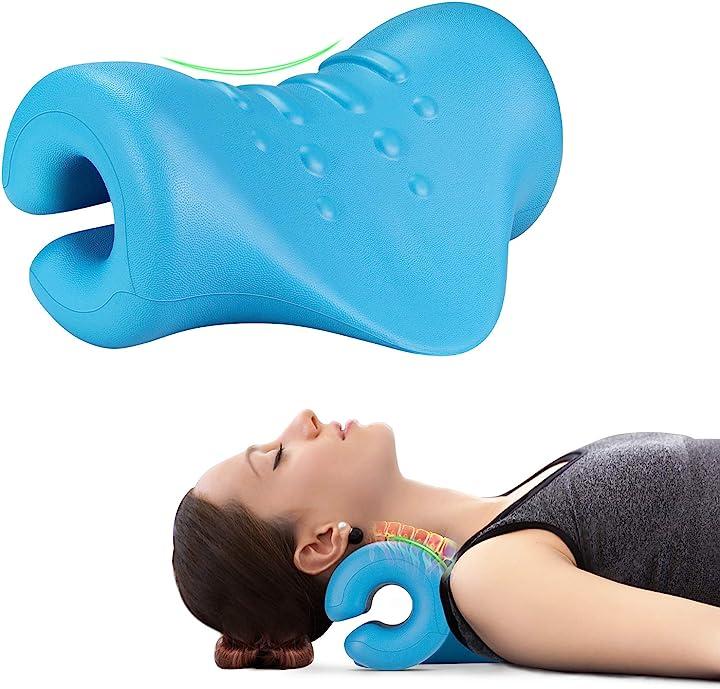 Massaggiatore cervicale imassage per cervicale collo e spalle trazione cervicale cuscino per alleviare dolore B08PD12HNX