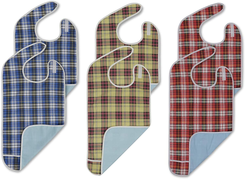 supreme Modaliv Adult Bibs 6 Pack Protector Wate Reusable Under blast sales - Clothing