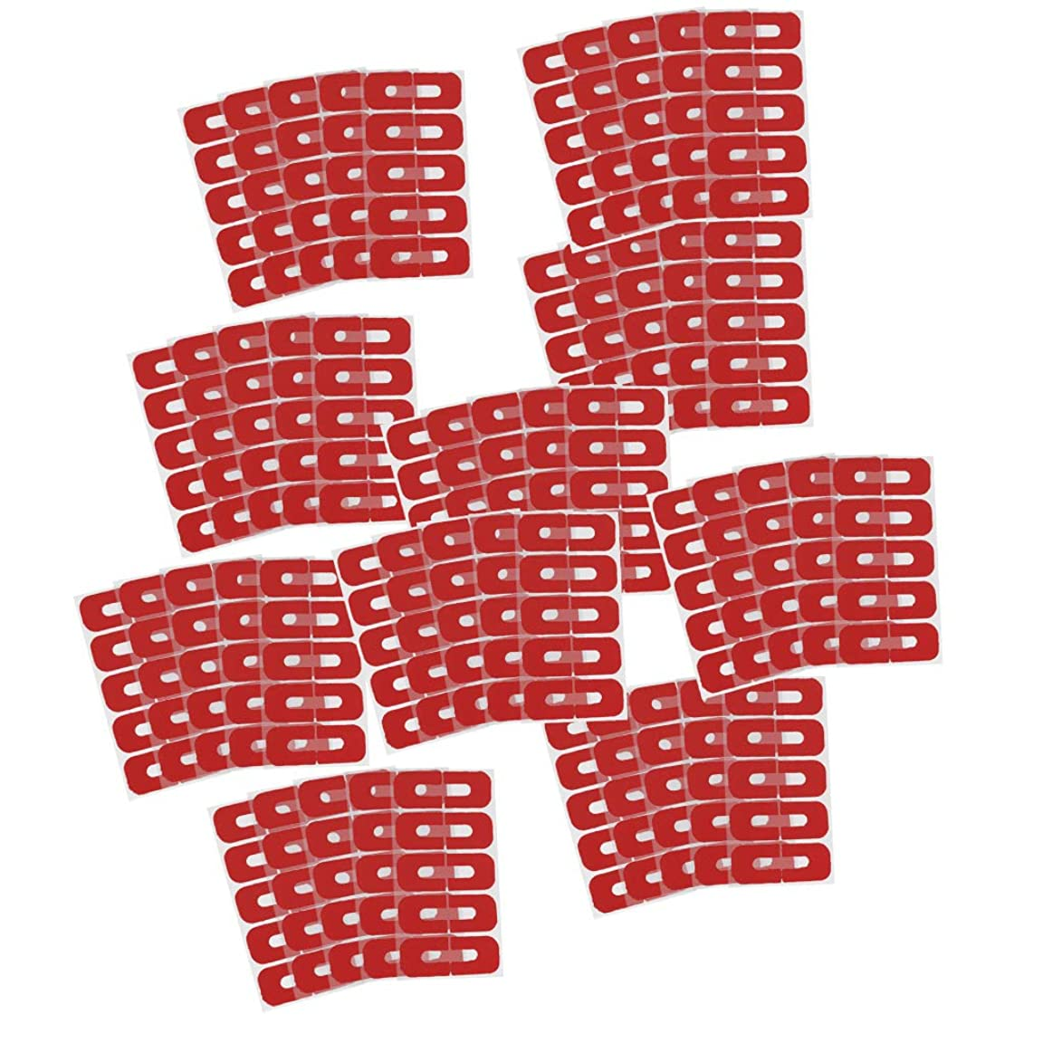 ヒューマニスティック影響力のある肥沃なCUTICATE 50点入 プロ ネイルサロン こぼれ防止 ネイルプロテクター カバー