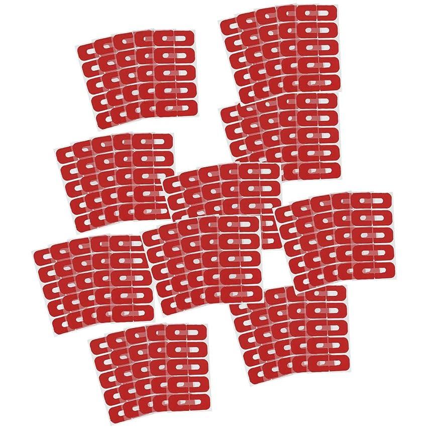 変更受け入れる遮るFityle 全50点 プロ ネイルサロン ネイルアート 剥離テープ スキン バリアポリッシュ プロテクター