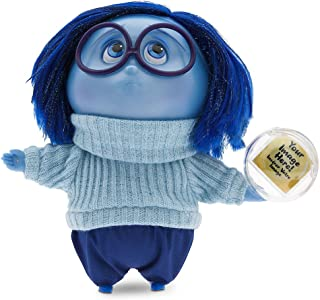 Disney Store Deluxe Sadness Talking Doll - Inside Out 7.5'' H