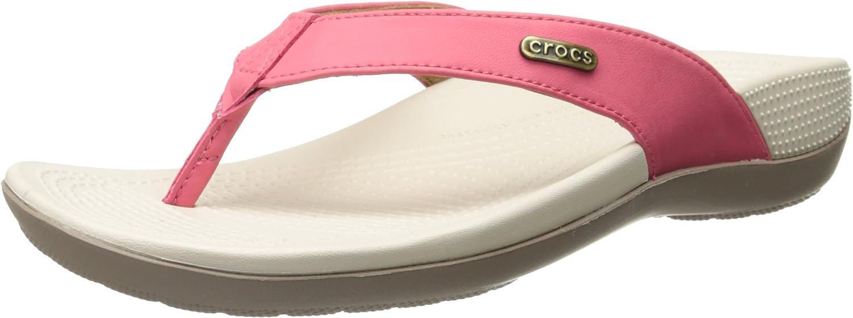 Crocs Women's Ella ComfortPath Flip Grey