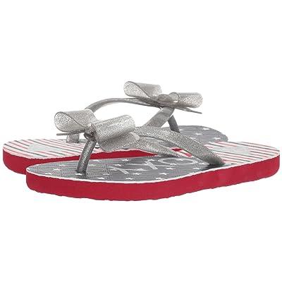 Roxy Kids Lulu III (Little Kid/Big Kid) (Red/White/Blue) Girls Shoes