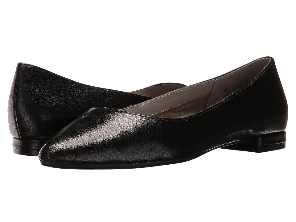 Aerosoles Hey Girl (Black Leather) Women