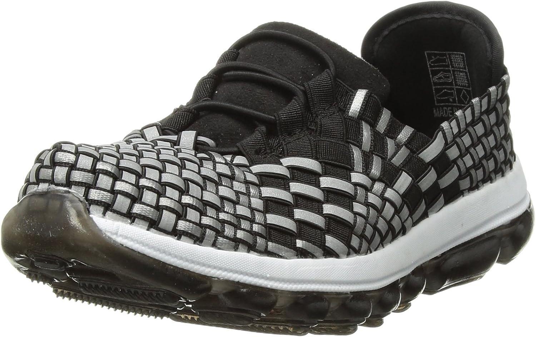 Bernie Mev Unisex-Kid's Gummies Vicky Sneaker, Black Reflective, 28-35 M M EU Big Kid (32 US)