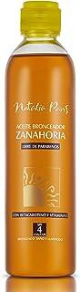 Natalia Paris Carrot Tanning Oil with Beta-Carotene and Vitamin E - SPF 4,UVA/UVB Aceite Bronceador de Zanahoria con Betac...